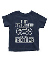 Leveling Up To Big Brother Toddler T-Shirt Video Game Lover Gift