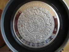 Mexiko Mexico 1kg Ag 999 Silber Prooflike Aztekenkalender 2014 mit kpl. Zubehör