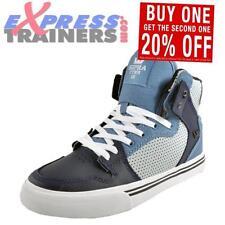 Chaussures bleus à lacets en cuir pour garçon de 2 à 16 ans