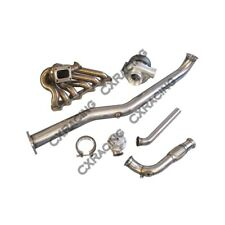 Turbo Kit For Lexus IS300 2JZGTE 2JZ-GTE Swap Manifold Manifold Downpipe WG