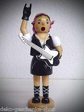 Fumador Figura Humeante Eje De Balancín Novia metal 20cm guitarra,