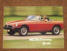 1975-77 MG RANGE Sales Brochure - MGB GT V8, MGB GT, MGB, Midget Mk3
