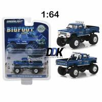 GREENLIGHT 29934 BIGFOOT #1 MONSTER TRUCK 1974 FORD F-250 DIECAST 1:64 BLUE
