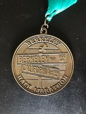 Berkeley Half Marathon Finishers Medal 2013 — Inaugural First Event