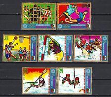 JO estate Guinea Equatoriale (49) serie completa di 7 francobolli nuovi lusso