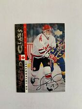 1995-96 Be A Player Autographs #S178 Ed Jovanovski - Team Canada