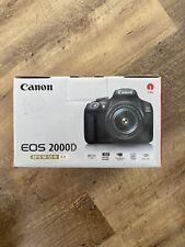 Canon 2728C002 EOS 2000D 18-55mm III Lens 24.1MP DSLR Camera