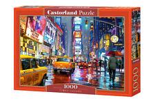 "Brand New Castorland Puzzle 1000 TIMES SQUARE 27"" x 17.5"" C-103911"
