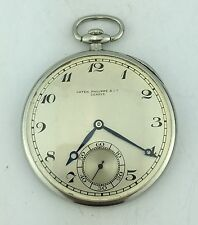 Patek Philippe Platinum Pocket Watch ca. mid 1920's