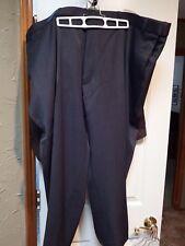 "Men's Dress Slacks Botany 500 50 XS 50XS 26"" inseam stretch side Charcoal RGP04"