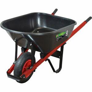 SCA Wheelbarrow - Poly Tray, 100 Litre