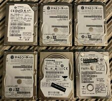 """6 x 250GB 2.5"""" HDD Hard Disk Drives JOB LOT PC/Laptop *Fully Tested*"""