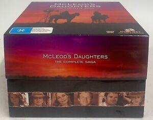 Mcleod's Daughters The Complete Saga DVD Box Set Seasons 1-8 52xDiscs Complete