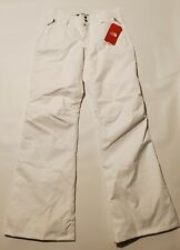 The North Face Sally Pants TNF White Women's Outerwear Size Medium Long  0160