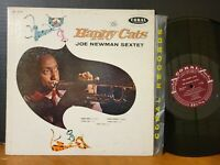 Joe Newman Sextet - The Happy Cats 1957 Jazz Mono LP Quincy Jones Frank Wess VG+