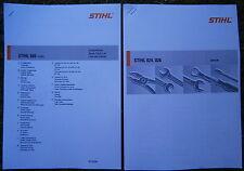 Reparaturanleitung MS 260 240 261 Stihl 026 024 Motorsäge Reparatur Säge Manual
