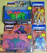 Mattel Masters of the Universe Origins He-man + Battle Cat + Skeletor + Panthor
