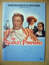 Her Majesty's Theatre 1985-Donald Sinden~THE SCARLET PIMPERNEL by Baroness Orczy