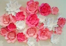 COMPLETE WEDDING WALL 8'x8' 40 GIANT FLOWER BACKDROP HANDMADE IN USA ANY COLOR