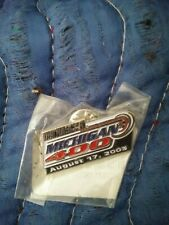 NASCAR/MICHIGAN 400 LAPEL or HAT PIN/ 2 AMERICAN FLAG PINS & 2 FLAG PATCHES!