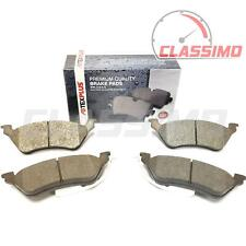 Rear Brake Pads for CHRYSLER VOYAGER + GRAND VOYAGER Mk 4 - 2000 to 2008