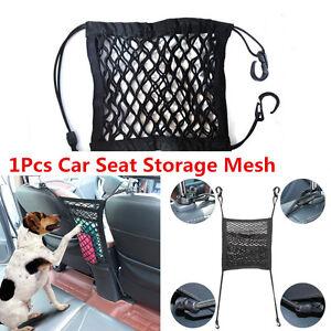 Car SUV Seat Storage Mesh Organizer Child Pet Dog Isolation Cargo Net Hook Pouch