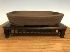 Unglazed Shohin Size Bonsai Tree Pot Tofukuji Jr. 6�