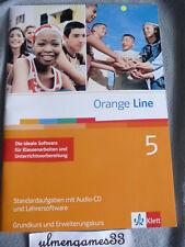 w NEU ? Orange Line 5 Klassenarbeiten + Lehrersoftware ? Standardaufgaben