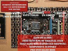 NEW Intel LGA 1156 Socket H55 Micro ATX Computer Motherboard DDR3 ECC 8GB WIFI