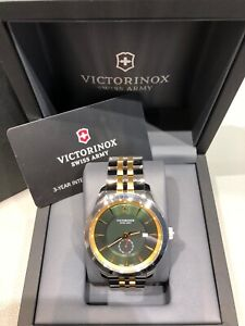 victorinox  Swiss Army Herren Uhr Garantie bis Februar 2022