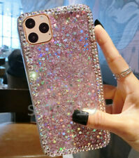 For iPHONE 11ProMax/LG Stylo 6/5/4 Bling Diamond Glitter Soft TPU Case Cover