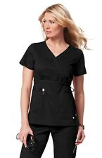"Koi Designer Scrubs Women's ""Katelyn"" 137 2 Pocket Scrub Top -New-Free Ship"