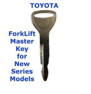 TOYOTA ForkLift Master Plant Key Heavy Equipment for New Toyota Series Models