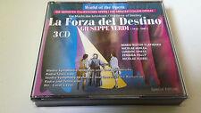 "CD ""VERDI LA FORZA DEL DESTINO"" 3CD CAROL LITVIN MARIA NISTOR-SLATINARU HERLEA"