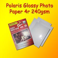 POLARIS Glossy Photo Paper 4r 240gsm