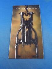 HARLEY DAVIDSON SALES BROCHURE 1989 SPORTSTER SUPER-GLIDE LOW RIDER SPORT GLIDE