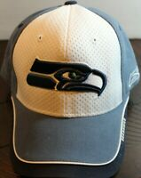 Reebok NFL Seattle Seahawks Cap Hat 100% Cotton Football Sports Adjustable