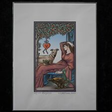 Tarot of the Sevenfold Mystery Print The Empress Signed Numbered Robert M Place