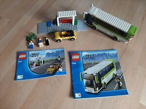 Lego City 8404  tramway / Gare