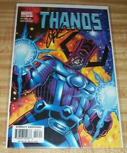 Thanos #3! (2003) Signed by Writer/Artist Jim Starlin! NM! COA!