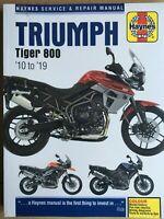 Triumph Tiger 800 2010 - 2019 Haynes Manual 5752 NEW