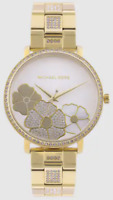Michael Kors 38mm Case Jaryn PavŽ Gold-Tone Dial Women's Casual Watch MK3864