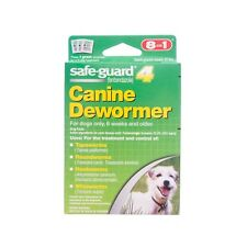 Safe-Guard 4 Canine Dewormer 8 in 1 - Each Pouch Treats 10 Pounds