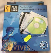 Case Logic Prosleeve 2 Removeable Sleeves 50  PSR50