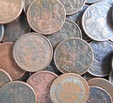 100 Coins LOT - EIC - ¼ Anna 1835 Bronze – 6.48 g – ø 25 mm - East India Company