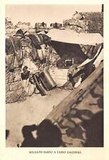 A3325) WW ETIOPIA ALPINI, SOLDATO SARTO A PASSO DAGHERA'.