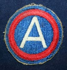 """ORIGINAL WWII WW2 U.S. ARMY 3RD ARMY PATCH """"PATTON'S OWN"""" BATTLE OF THE BULGE"""