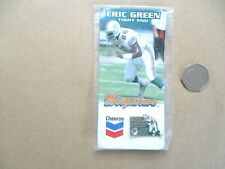 More details for american nfl miami dolphins 1995 eric green lapel badge in original packaging