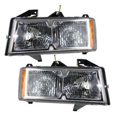 WINNEBAGO HURRICANE 2007 2008 2009 PAIR HEADLIGHTS HEAD LIGHTS FRONT LAMPS RV