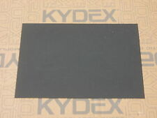 KYDEX T SHEET 300 X 300 X 1MM  (P-1 HAIRCELL BLACK 52000)